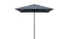 "PARASOL 2X2m ""PREMIUM XM"" - GRAY COLOR COVER AND ANTHRACITE COLOR FRAME"