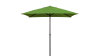 "PARASOL 2X2m ""PREMIUM XM"" - GREEN COLOR COVER AND ANTHRACITE COLOR FRAME"